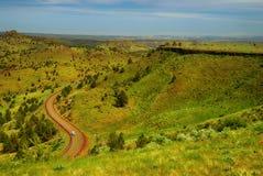 Landscape. Indian reservation. Oregon. USA Stock Photo