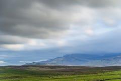 Landscape inside the isle of skye, scotland royalty free stock photo