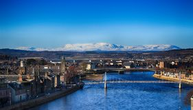 A landscape about Inverness Stock Images