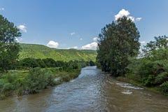 Landscape of Iskar River Gorge, Balkan Mountains, Bulgaria. Amazing Landscape of Iskar River Gorge, Balkan Mountains, Bulgaria royalty free stock photos