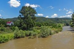 Landscape of Iskar River Gorge, Balkan Mountains, Bulgaria. Amazing Landscape of Iskar River Gorge, Balkan Mountains, Bulgaria royalty free stock photography