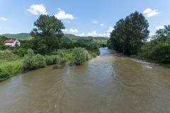 Landscape of Iskar River Gorge, Balkan Mountains, Bulgaria. Amazing Landscape of Iskar River Gorge, Balkan Mountains, Bulgaria royalty free stock images