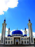 Landscape with Islam temple of South Russia Stock Images