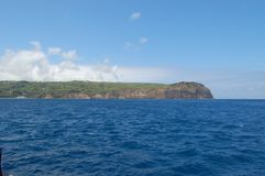 Landscape of the island of Faial. Azores, Portugal Stock Photo