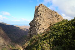 Landscape of the island of La Gomera Stock Images