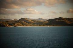 Landscape island stock image