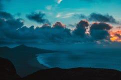 ocean landscape & x28;sunset& x29; Stock Photos