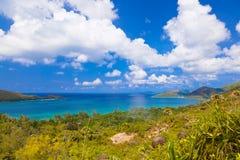 Landscape of island Praslin - Seychelles Royalty Free Stock Photos