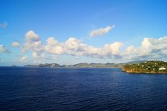 Landscape island stock photo
