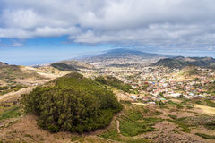Landscape on the island Tenerife Royalty Free Stock Images