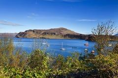 Isle of Skye - the bay near Portree Royalty Free Stock Photo