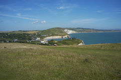 Landscape of the Isle of Wight Stock Photo