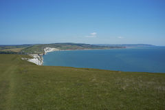 Landscape of the Isle of Wight Royalty Free Stock Photos