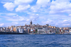 Landscape of Istanbul and the Bosporus Stock Photography