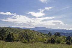 Landscape in Istria Stock Images