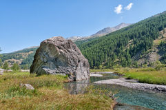 Landscape of Italian alps Royalty Free Stock Photos