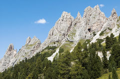 Landscape of the Italian mountains Stock Image