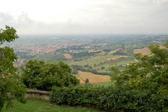 Landscape, Italy stock photography