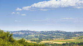 Landscape in Italy Marche Royalty Free Stock Photos