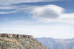 Landscape Jebel Akhdar Oman. Image of landscape Jebel Akhdar Saiq Plateau in Oman royalty free stock photography