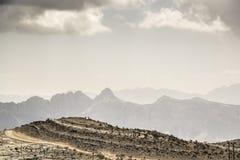 Landscape Jebel Shams Royalty Free Stock Photos
