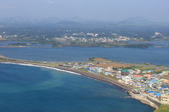 Landscape of jeju island Royalty Free Stock Photo