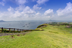 Landscape of Jeju Island, South Korea. Summer landscape of Jeju Island, South Korea Stock Photography