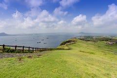 Landscape of Jeju Island, South Korea Stock Photography
