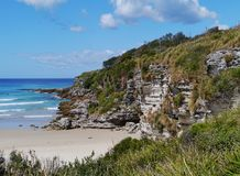 Landscape of the Jervis bay territory Royalty Free Stock Photography