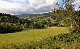 Landscape Jeseniky, Czech Republic, Europe Stock Image