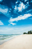 Landscape of Jomtiean beach Royalty Free Stock Images