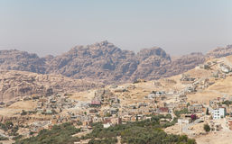 A landscape in Jordan, Middle-East. Typical landscape of Jordan Royalty Free Stock Photos