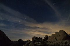 Landscape in Joshua Tree National Park Royalty Free Stock Photography