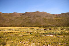 Landscape of Jujuy Royalty Free Stock Photos