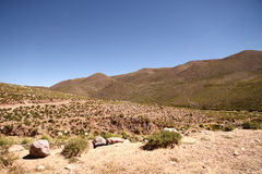 Landscape of Jujuy Royalty Free Stock Image