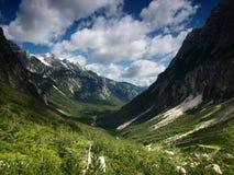 Landscape from Julian Alps, Slovenia. Royalty Free Stock Photos