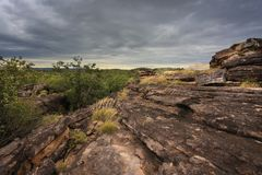 Landscape of Kakadu, Australia Royalty Free Stock Photos