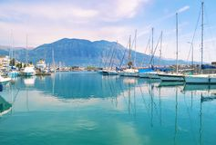Landscape of Kalamata Messinia Peloponnese Greece Stock Image