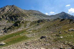 Landscape of Kamenitsa peak in Pirin Mountain Royalty Free Stock Photo