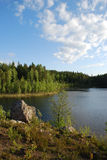 Landscape of Karelia Stock Photo