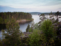 Landscape of Karelia Russia Royalty Free Stock Photos