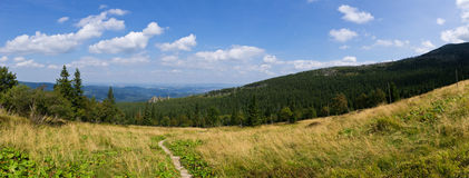 Landscape in Karkonosze mountains, Poland Stock Photography