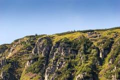 Landscape of karkonosze. In Summer Royalty Free Stock Image