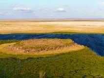 Landscape Kenia. Africa Landscapen in Kenia Nationalpark Stock Images