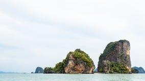 Landscape KhaoTapu or James Bond Island Stock Photos