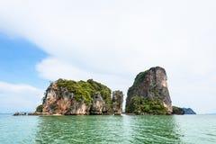 Landscape KhaoTapu or James Bond Island Royalty Free Stock Photography