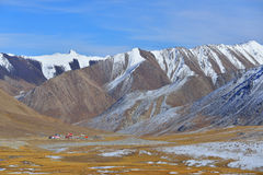 Landscape of Khunjerab pass. Stock Images