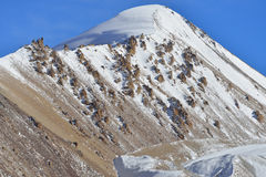 Landscape of Khunjerab pass. Stock Image