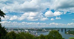Landscape kiev Stock Photo
