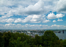 Landscape kiev Stock Photography